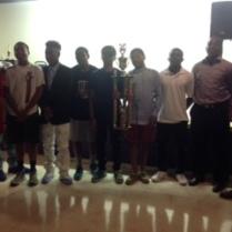 Knights 1st place season and tournament winners